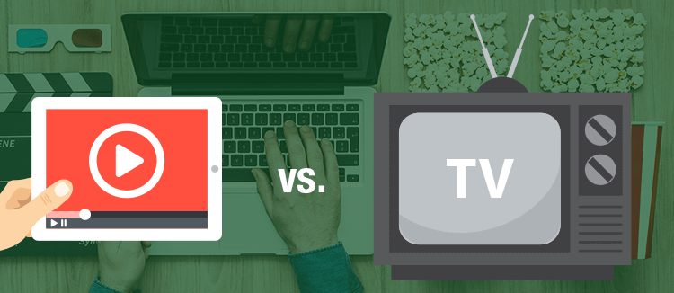 Video-Streaming vs. TV