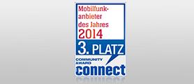 Connect Leserwahl - Mobilfunkanbieter 2014