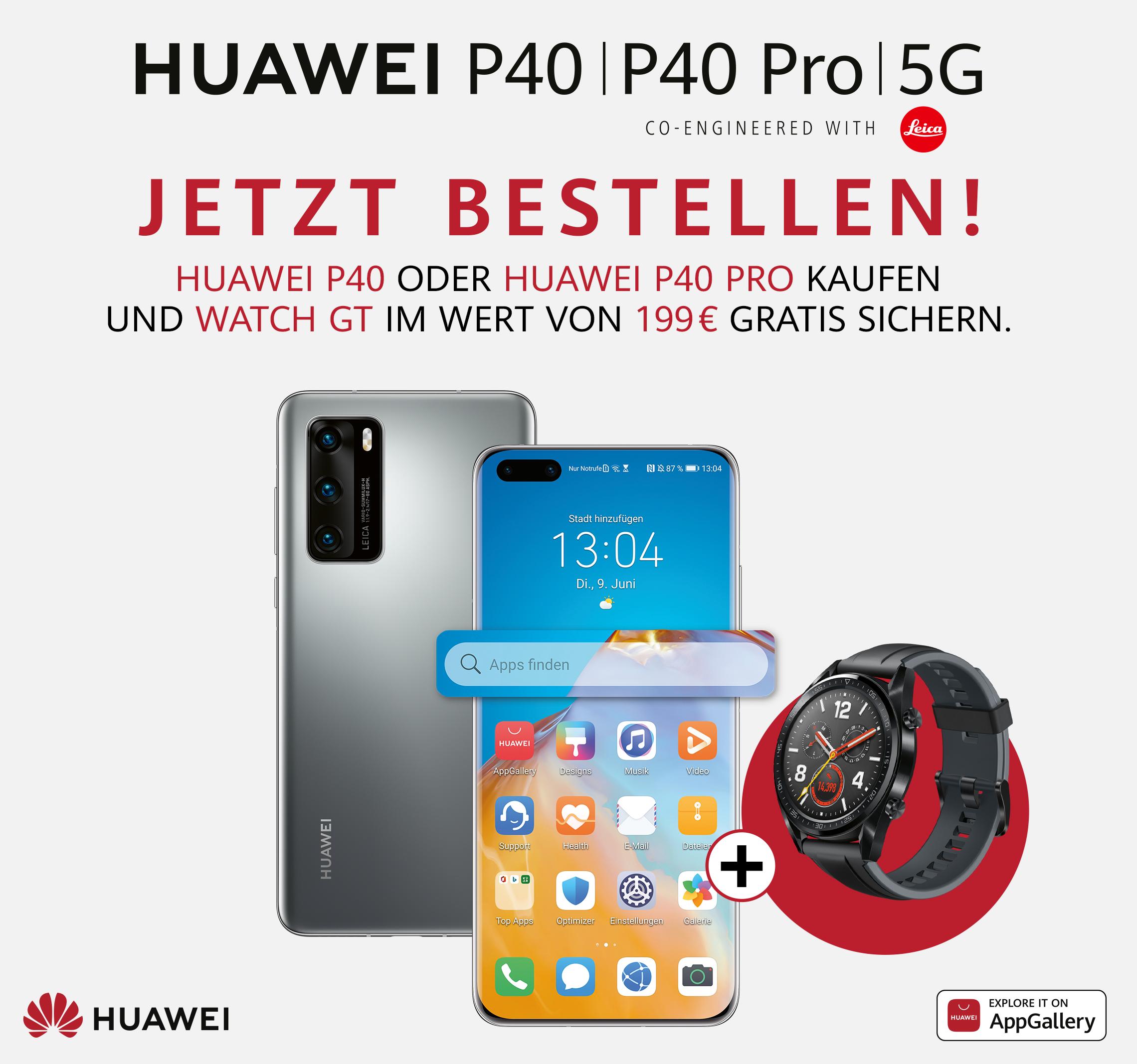 Huawei P40, P40 Pro