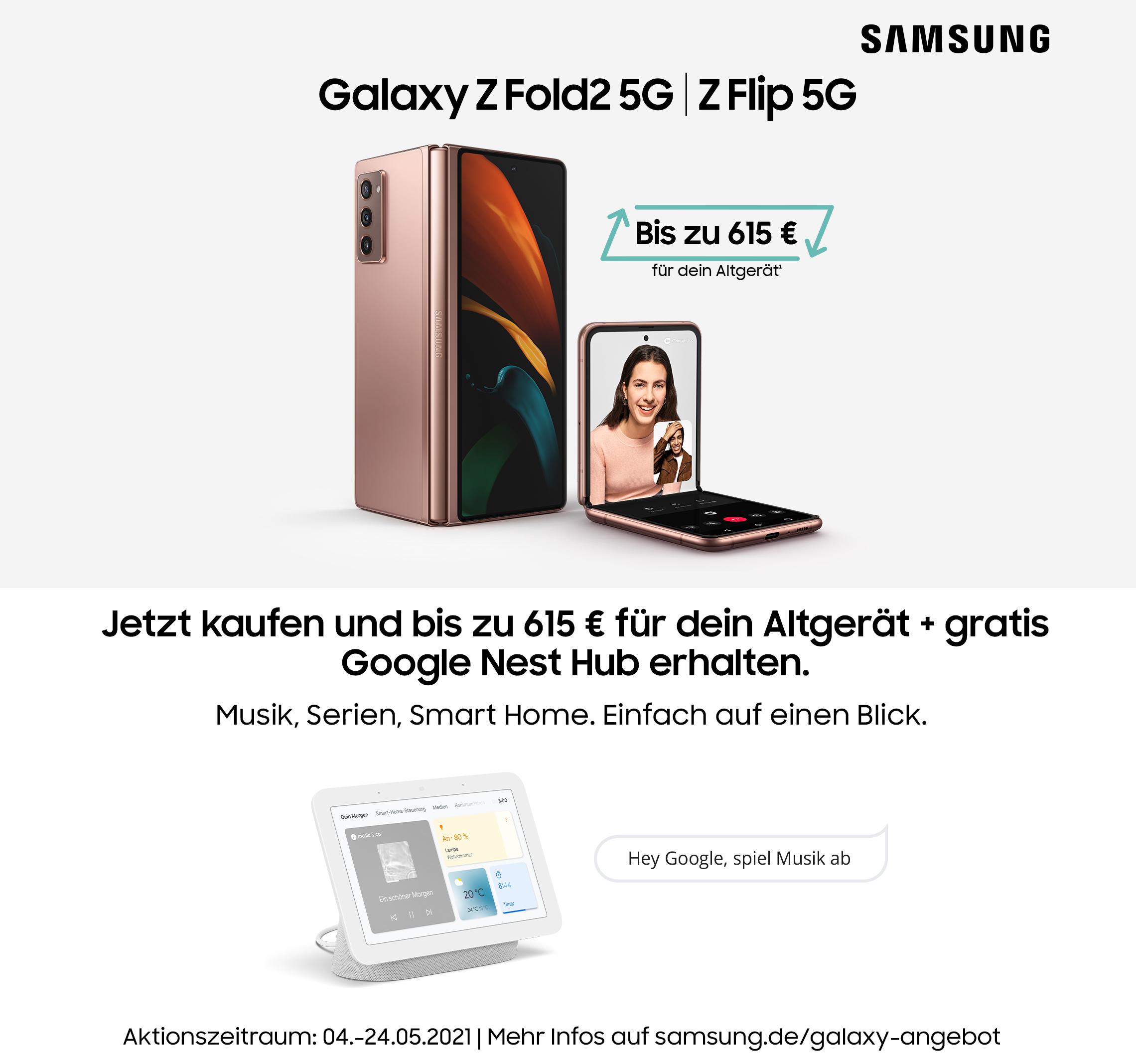 Samsung Galaxy Z Flip 5G | Z Fold2 5G