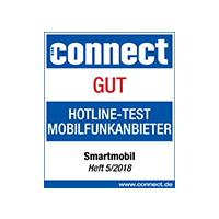 Top Beratungskompetenz im connect Hotline-Test