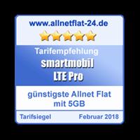 LTE Pro - Günstigste Allnet Flat mit 5 GB
