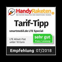 LTE Special - Tarif-Tipp LTE Allnet Flat unter 10 Euro