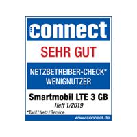 Top Tarif LTE 3 GB für Wenignutzer im connect Test