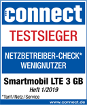 Netzbetreiber-Check-Wenignutzer LTE 3 GB