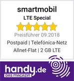 handy.de smartmobil LTE Pro Allnet-Flat 2 GB