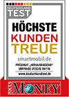 Focus Money - Höchste Kundentreue im Deutschlandtest