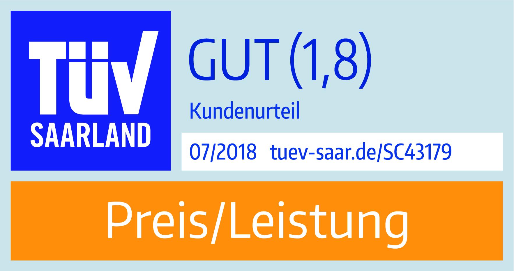 TÜV Saarland - Preis-Leistung