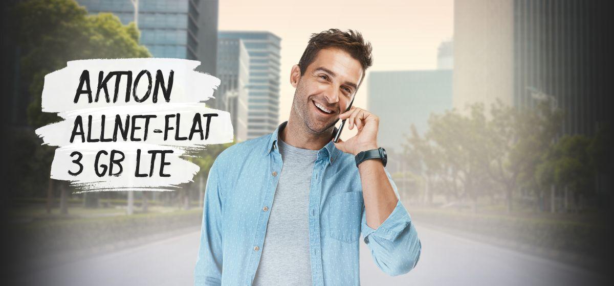 Aktion: Allnet-Flat 3 GB LTE