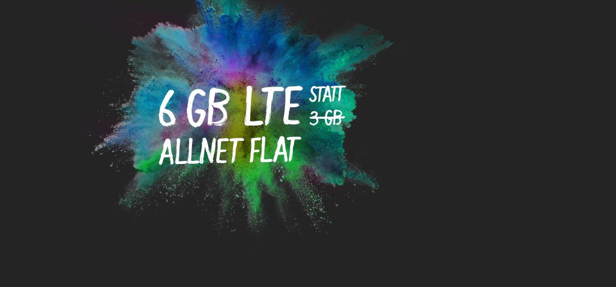 6 GB statt 3 GB
