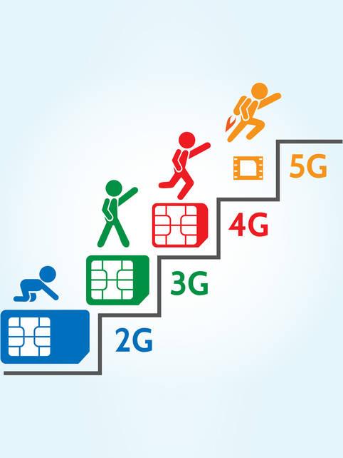 Geschichte der Netzgenerationen: 1G, 2G, 3G, 4G LTE und jetzt 5G