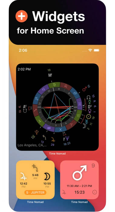 Time Nomad: Astrologie und Horoskope für Fortgeschrittene