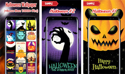 Halloween Walllpaper App Icon