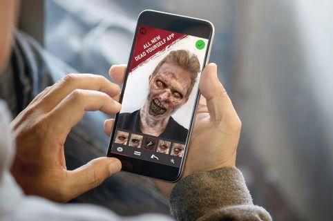 Vom Selfie zum Zombie-Gesicht