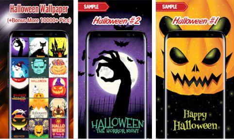 Halloween-Hintergründe fürs Smartphone