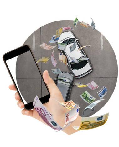 Cellphone Cash Car