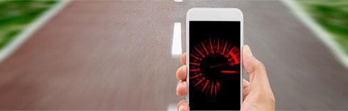Schnelles Smartphone, schnelles Internet