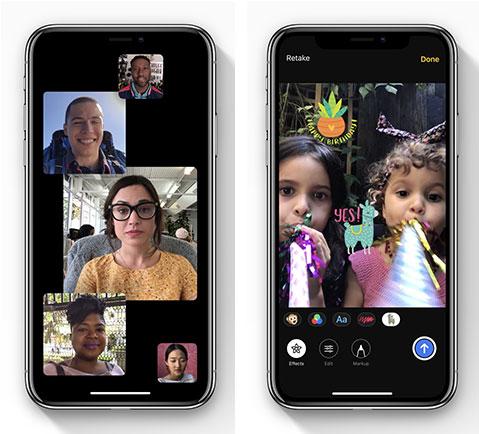 Kamera-App bietet neue Features und Animojis für iOS