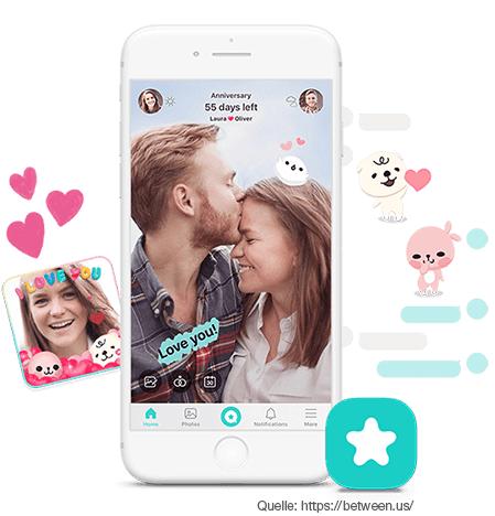die Pärchen-App, die jede Distanz überbrückt