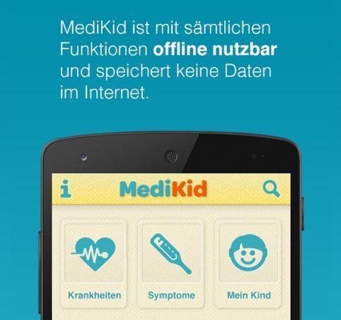 MediKid – Die App für junge Eltern