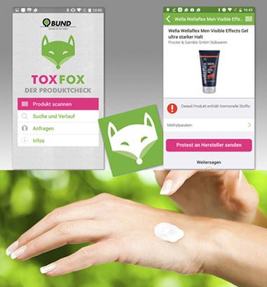 ToxFox - Produktscanner zum Aufspüren versteckter Schadstoffe