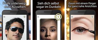 der Beauty-Spiegel fürs Smartphone