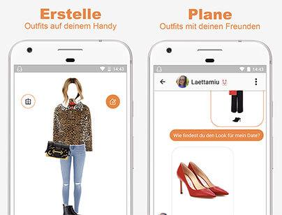 Style App für das perfekte Outfit
