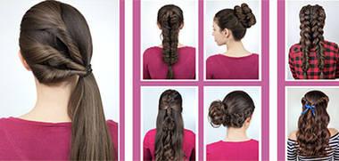 trendige Frisuren Schritt für Schritt erklärt