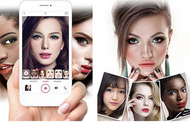 Make-Up-Styles virtuell testen