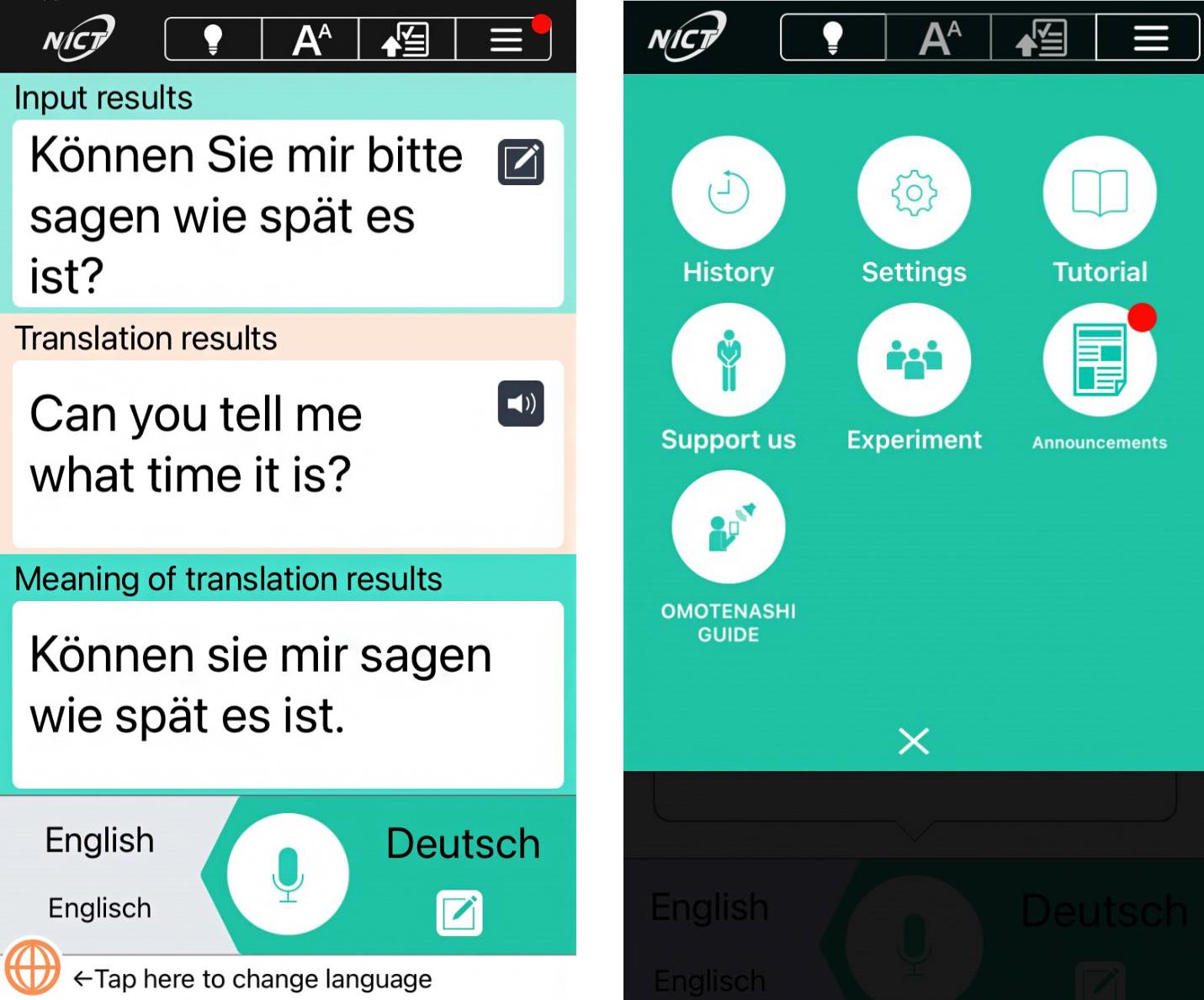 DIE mobile Dolmetscher-App für über 60 Sprachen
