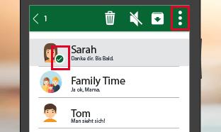 Shortcuts zu den beliebtesten WhatsApp-Kontakten erstellen