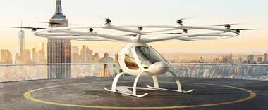 das Flugzeug in Zukunft