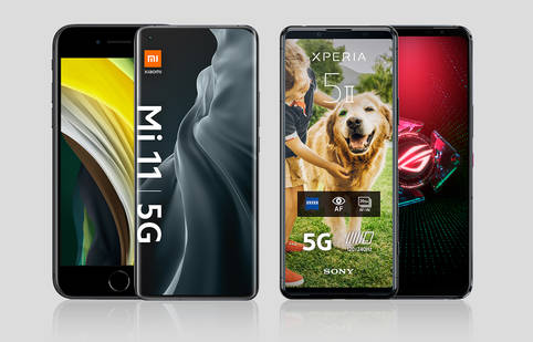 Aktuelle Dual-SIM-Handys im Überblick