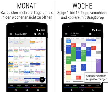 Business Kalender 2 App