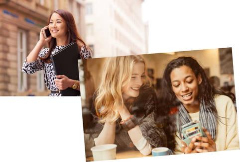 Sprach- und Videoanrufe (auch für Gruppen) durchführen