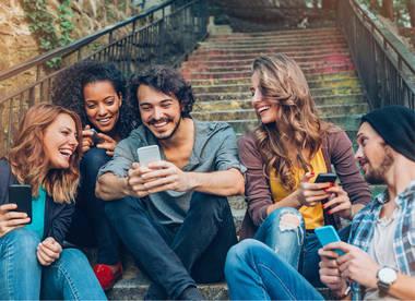 Personen in Gruppen-Chats erwähnen