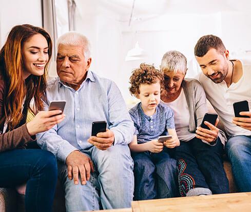 der gemeinsame Familienkalender als App