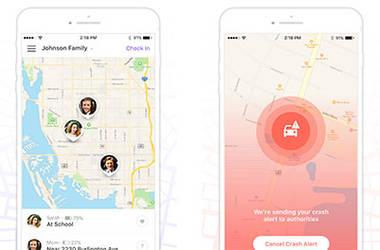 Familien App für ein sicheres Gefühl