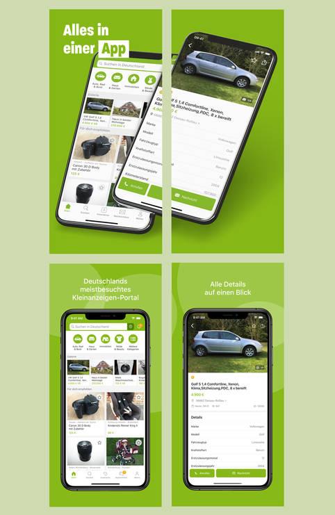 kostenlose Kleinanzeigen per App