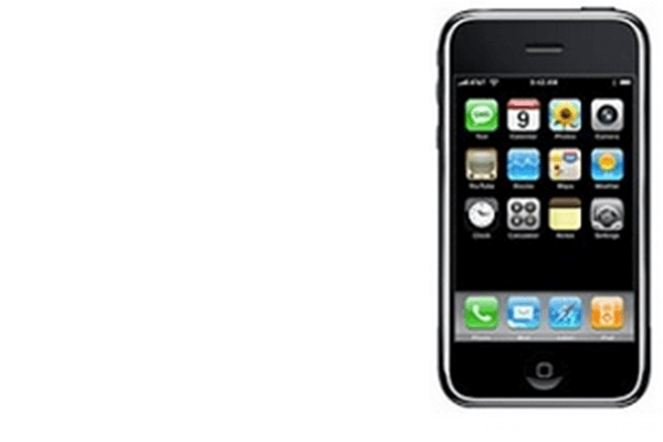 2007: das Apple iPhone