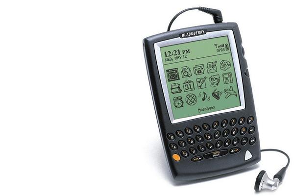 erstes Handy mit E-Mail-Funktion: Blackberry 5810