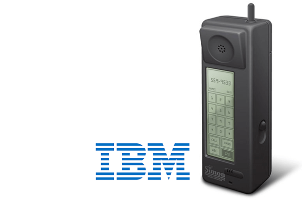 erstes Handy: IBM Simon Personal Communicator