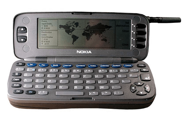 erstes Internet-Handy: Nokia Communicator