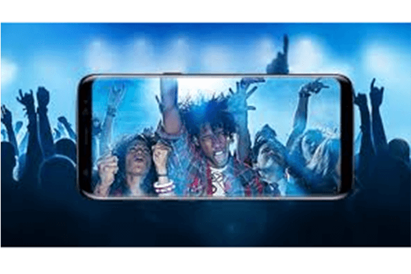 Galaxy S8 - beinahe randloses und gebogenes Display
