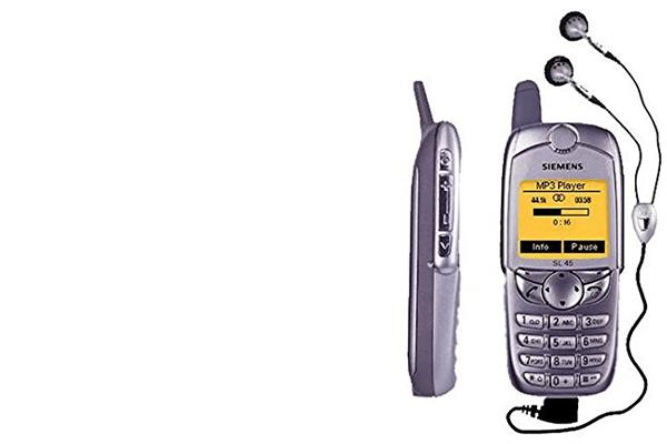 erstes Musik-Handy: Siemens SL45