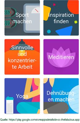 Fabulous - die ganzheitliche Gesundheits-App