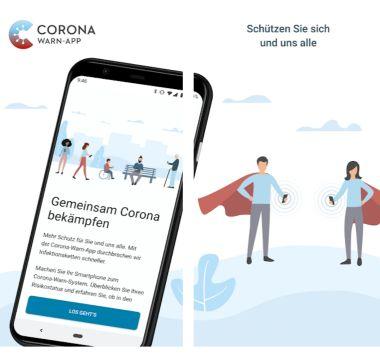 Corona-Warn-App: Nachverfolgung von Infektionsketten