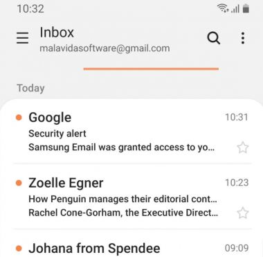 Samsung Email