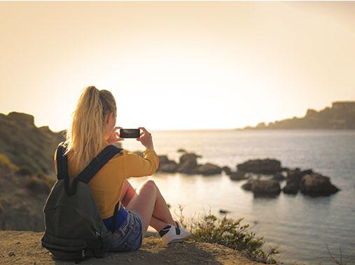 Landschaftsfoto mit dem Handy