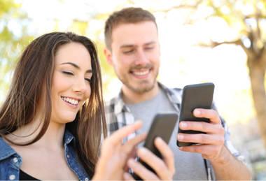 Handy-Webseiten und Online-Shops